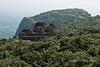 Old grain storage structure on pilgrim path up Pavagadh Hill, Champaner-Pavagadh Archeological Park, Gujurat, India
