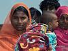Mothers and babies, Champaner, Gujarat, India