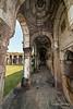 Corridor surrounding Jami Masjid, Champaner, Gujarat, India