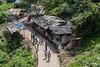 Pilgrim path up Pavagadh Hill #1, Champaner-Pavagadh Archeological Park, Gujurat, India