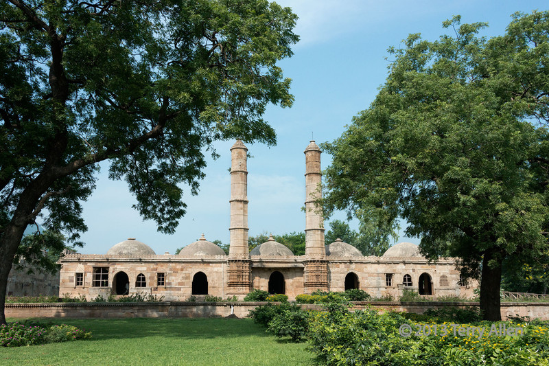 Saher Ki Masjib mosque (15th C), Champaner UNESCO site, Gujurat State