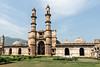Jami Masjid and courtyard, Champaner, Gujarat, India