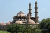 Jami Masjid domes and portico from rear, Champaner, Gujarat, India