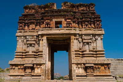 Hampi Ruins in Karnataka, India
