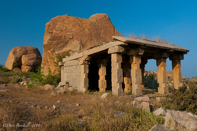 Boulders at the Hampi Ruins in Karnataka, India