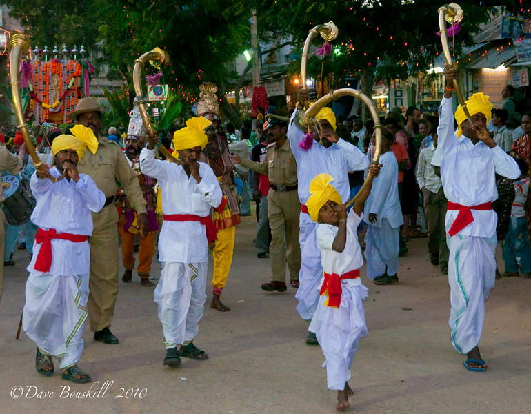 The Hampi Festival celebration is in full swing!