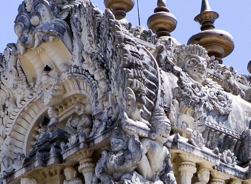 The detail in the stone carving just doesn't stop.