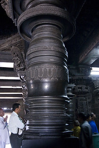 One of the more fascinating features of these temples are the columns. They are solid stone and were turned on a lathe, a thousand years ago.