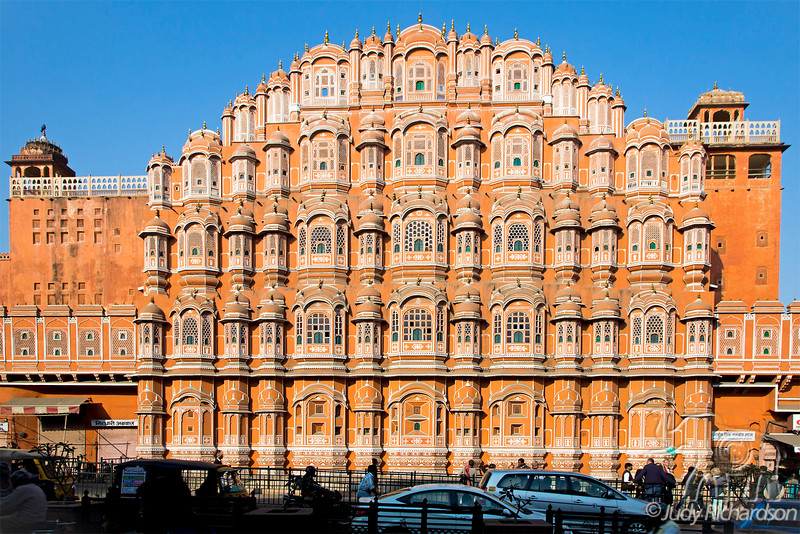 "'Palace Of The Winds', or Hawa Mahal in Jaipur, India ~""Pink City"""