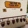 Tara Devi station, one of many tiny stations along the Shimla-Kalka route