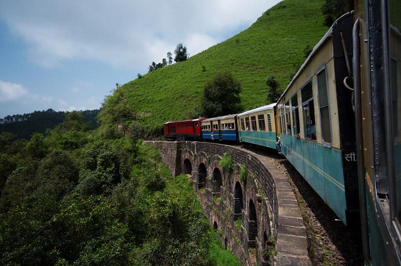 Beautiful bridges along the Shimla-Kalka rail line