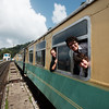 Getting ready to leave Shimla on the toy train