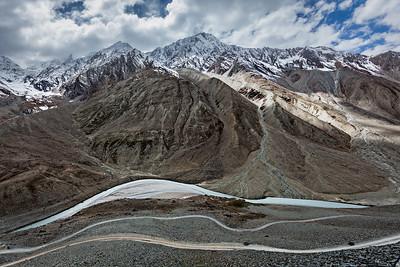 View of Himalayas, India