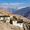 Dhankar village, Spiti valley