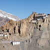 Dhankar gompa perched on cliff