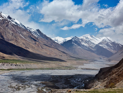 Himalayas. Spiti Valley, Himachal Pradesh, India