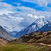 Himalayas. On the trek to Chandra Tal Lake (4300 m). Spiti, Himachal Pradesh, India