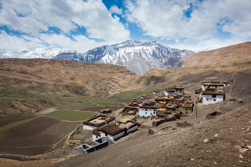 Village in Himalayas