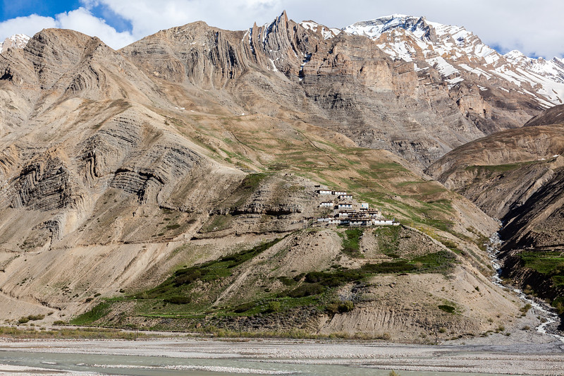 Tailing Village in Pin Valley, Himachal Pradesh, India