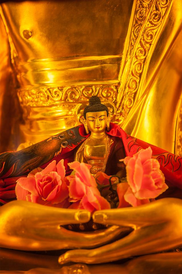Buddha Sakyamuni statues