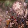 Holi Festival celebrations, Mathura, Uttar Pradesh, India