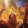 Holi Festival celebrations, Vrindavan, Uttar Pradesh, India