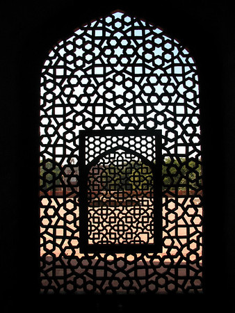 Trellis at Humayun's Tomb