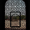 Trellis at Humayun's Tomb
