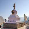 Женский монастырь Панги. Это - единственный тибетский женский монастырь на территории штата Химачал Прадеш.