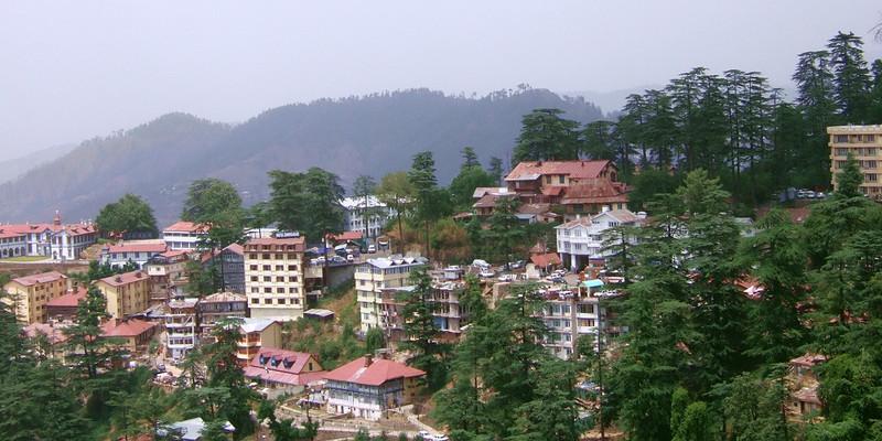 Шимла - столица штата Химачал Прадеш