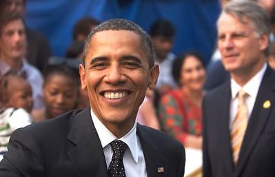 Obama, US Embassy, New Delhi
