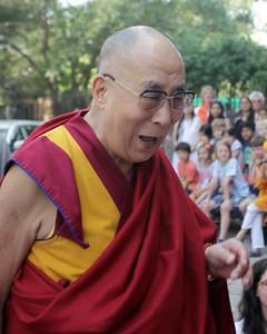 Dalai Lama, American Embassy School, New Delhi