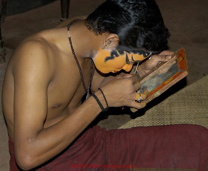 A Kathakai performer,Kochi,India