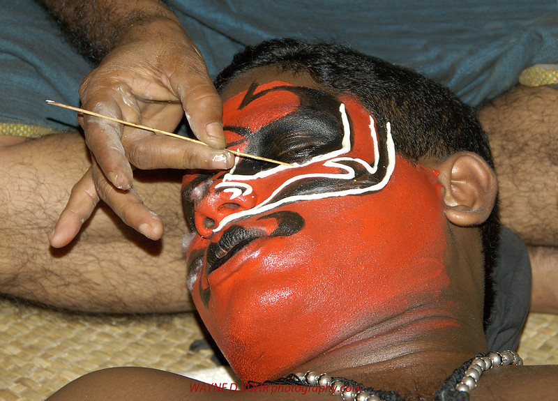 A kathakali performer,kochi,India
