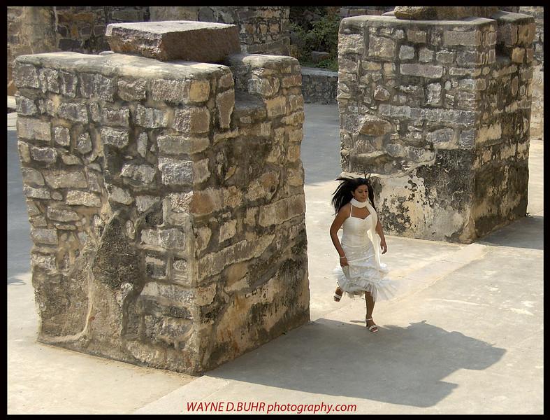Movie still,Golkonda Fort,Hyderabad,India