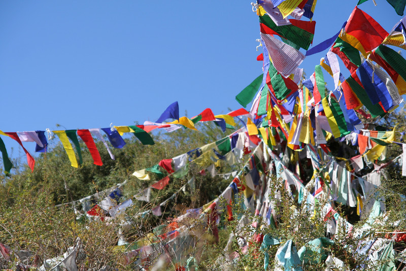 Tibetan Prayer Flags.