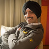 Dv looks quite debonair in his turban, Amritsar