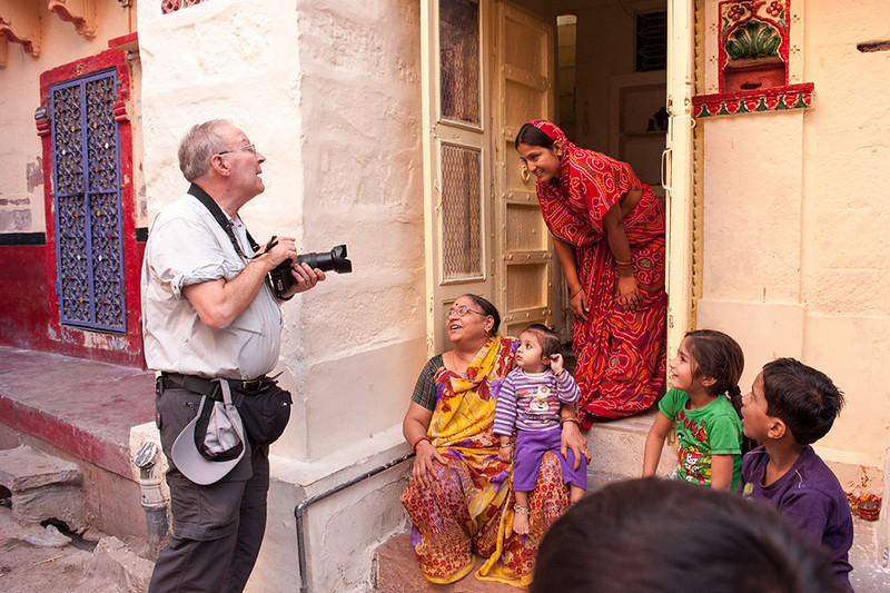 Dr. Ludwig makes a house call in Jodhpur