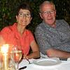 Bunkie and Bob, dinner at Hotel Ajit Bhawan, Jodhpur