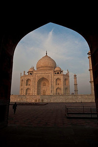 The Taj Mahal at Sunrise