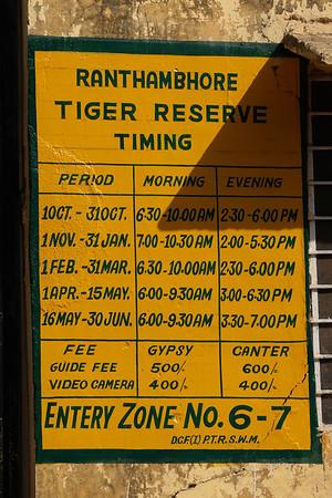 India - Ranthambhore Safari 1502