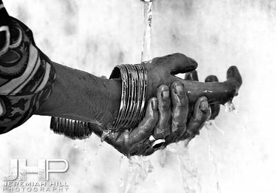 """Hands Of Prayer"", Rishikesh, Uttaranchal, India, 2007 Print IND3714-016"