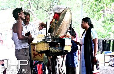 """Waiting On A Chapati"", Rishikesh, Uttuaranchal, India, 2007 Print IND3627-561"