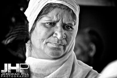 """Mother #2"", Rishikesh, Uttuaranchal, India, 2007 Print IND3714-013"