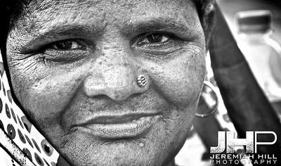 """Mother #1"", Rishikesh, Uttaranchal, India, 2007 Print IND3714-326"