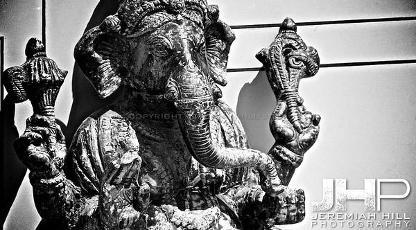 """""""Rishkesh Ganesh in B&W"""", Rishikesh, Uttuaranchal, India, 2007 Print IND3714-024"""