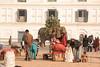 The main downtown plaza in Katmandu, Nepal.  Enough said.