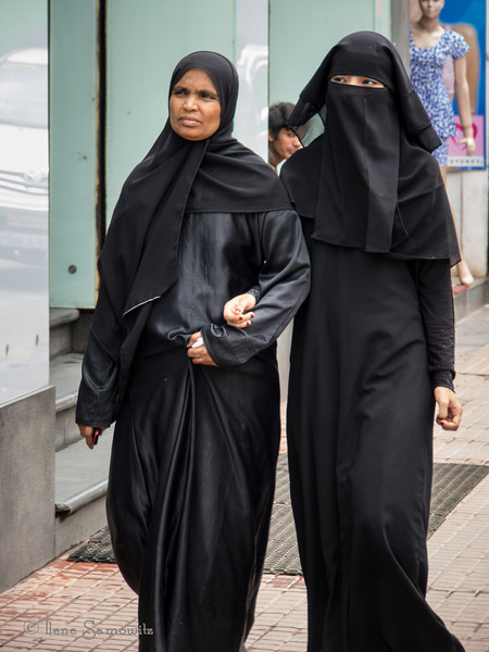 Muslim women in Bangalore.