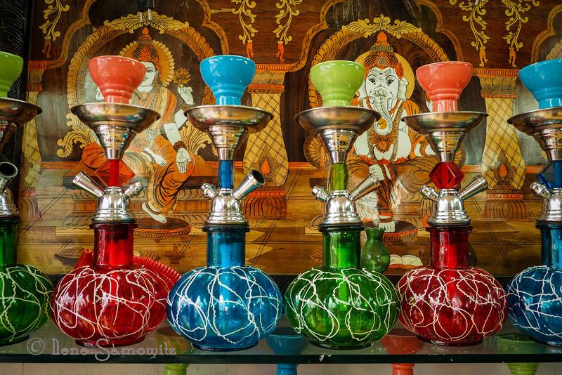 Colorful bongs