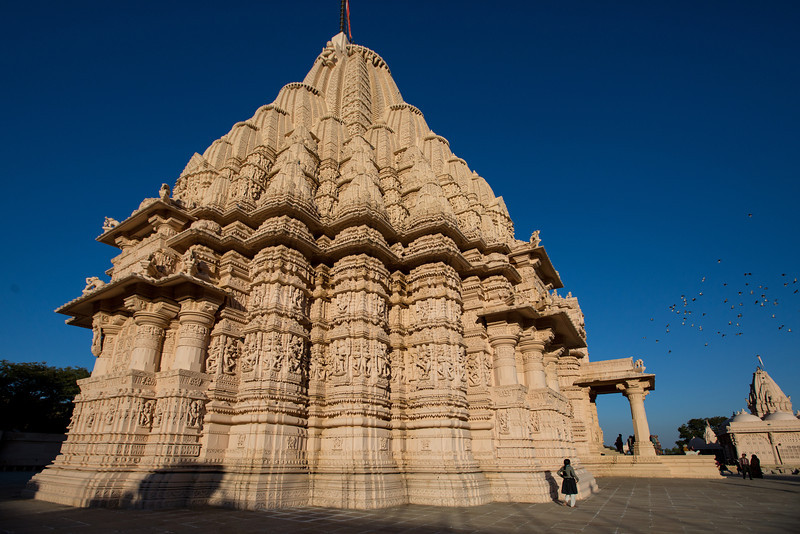 Jain Derasar (Temple) at  Taranga, North Gujarat.